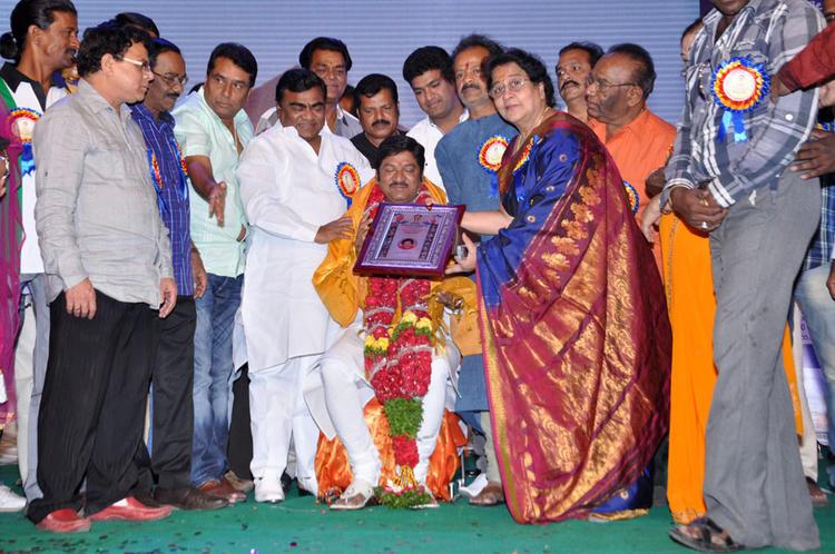 Dr.Rajendra Prasad And Anjali Devi Graced At Dr.Rajendra Prasad Sanmanam Function