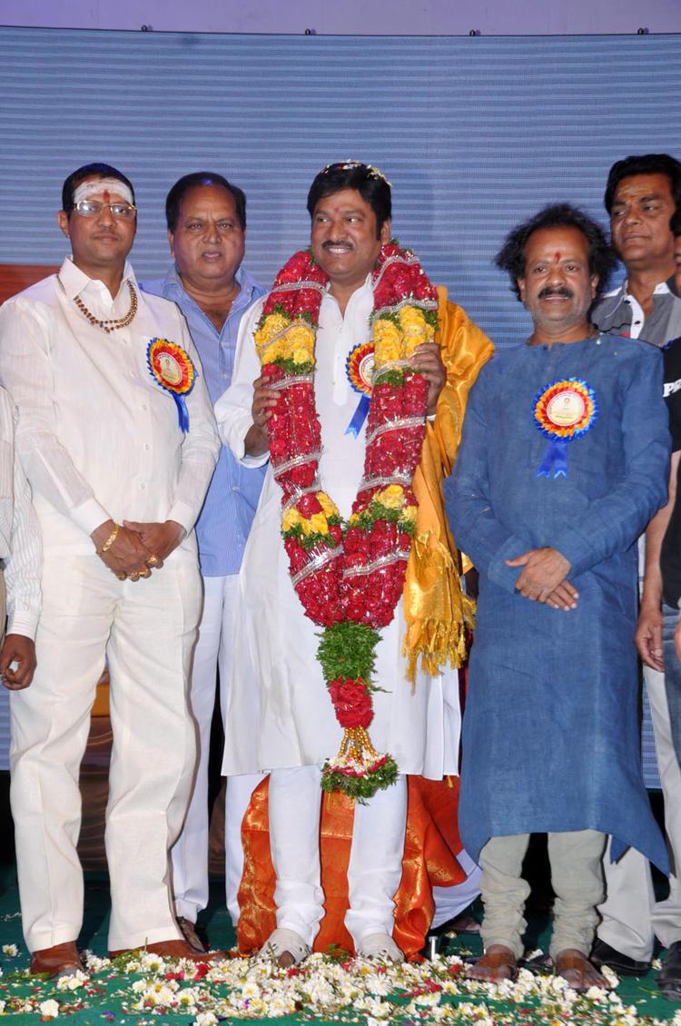 Dr.Rajendra Prasad Smiling Look At Dr.Rajendra Prasad Sanmanam Function