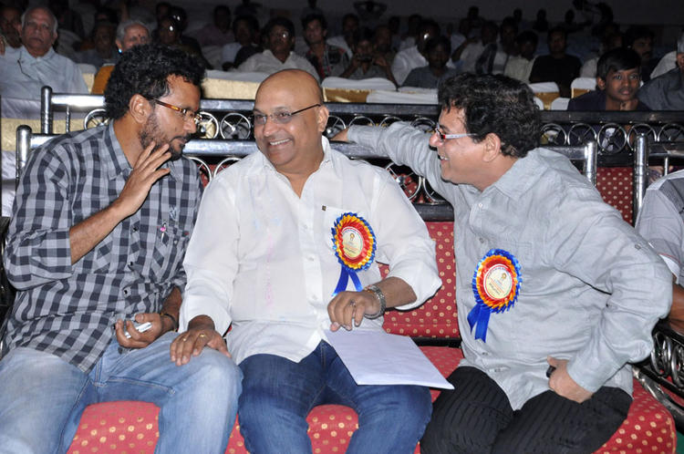 Guests Are Cool Chatting Still At Dr.Rajendra Prasad Sanmanam Function
