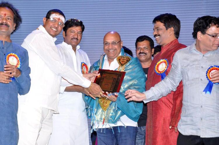 Guests Are Cool Pose At Dr.Rajendra Prasad Sanmanam Function