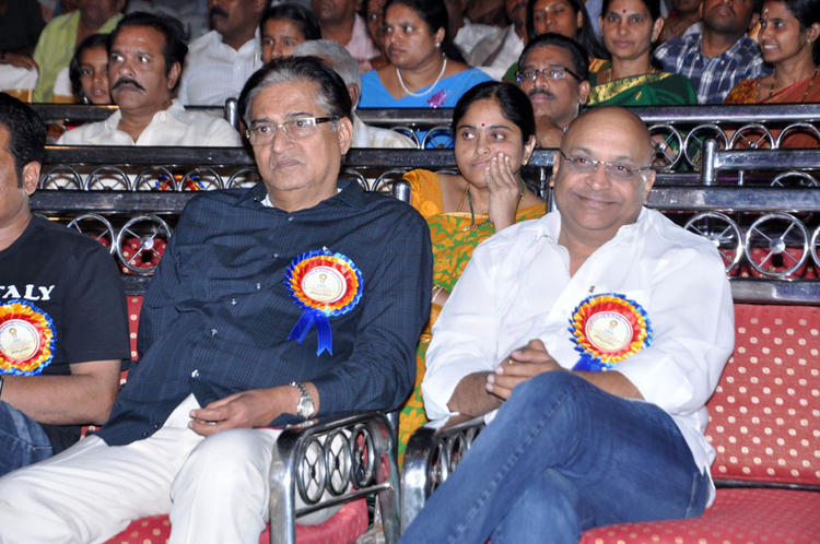 Guests Are Enjoyed The Programme At Dr.Rajendra Prasad Sanmanam Function