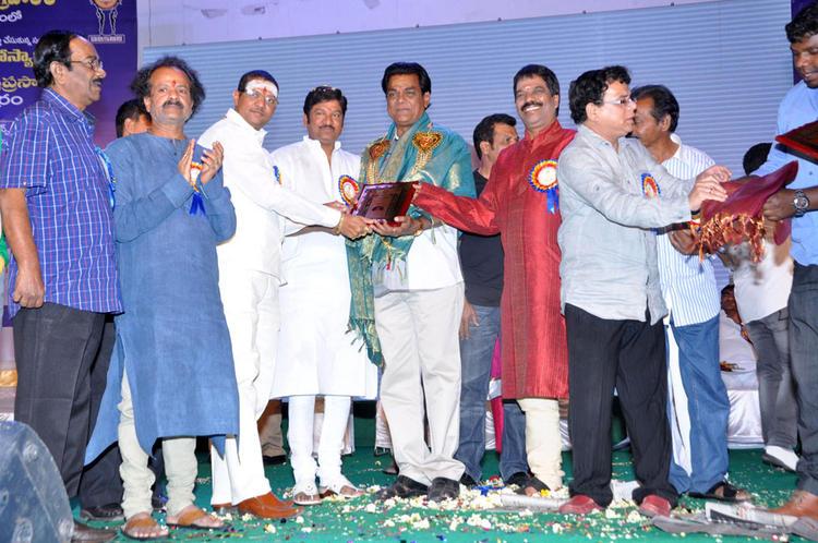 Guests Are Present At Dr.Rajendra Prasad Sanmanam Function