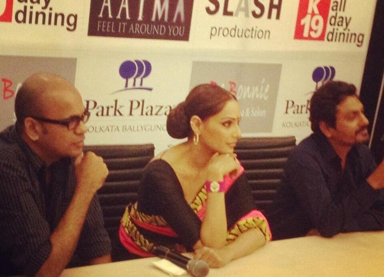Bipasha And Nawazuddin Make An Appearance At Aatma Press Conference In Kolkata