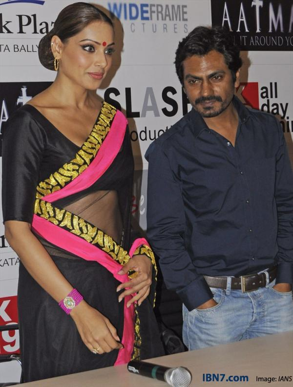 Bipasha And,Nawazuddin Make An Appearance At Aatma Press Conference