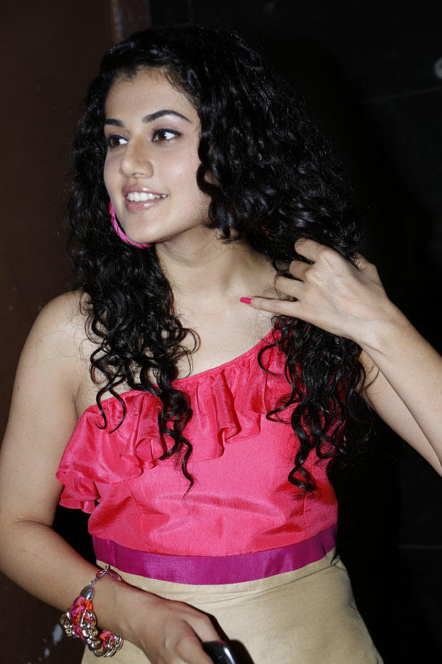 Taapsee Pannu Fabulous Look At Radio Josh Launch Event