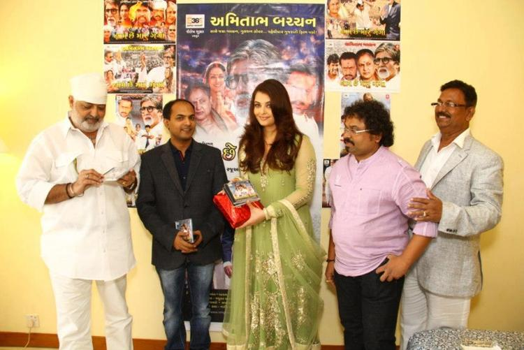Aishwarya At The Audio Launch Of Naam Chhe Maru Ganga Film