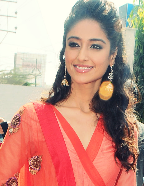 Ileana Looked Ravishing In A Red Ensemble At Forever Jewellery Showroom Launch