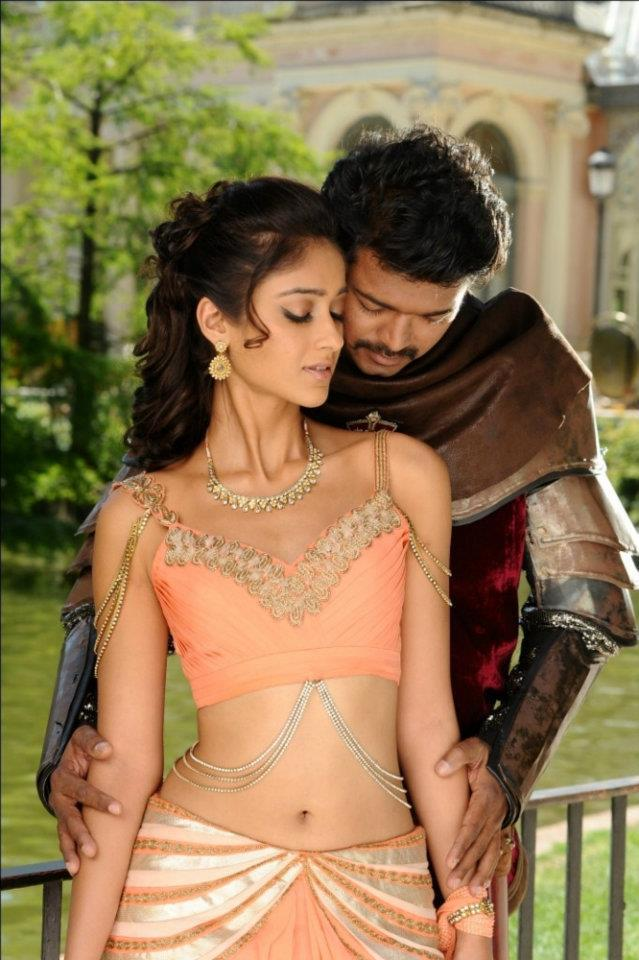 Ileana And Vijay Sexy Experience Photo Still From Movie Nanban