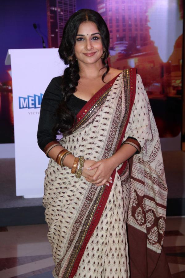 Vidya Balan Arrived At Indian Film Festival Of Melbourne