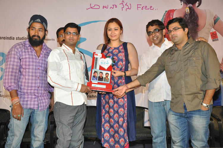 Jwala And Other Celebs Pose For Camera At 3G Love Movie Platinum Disc Function