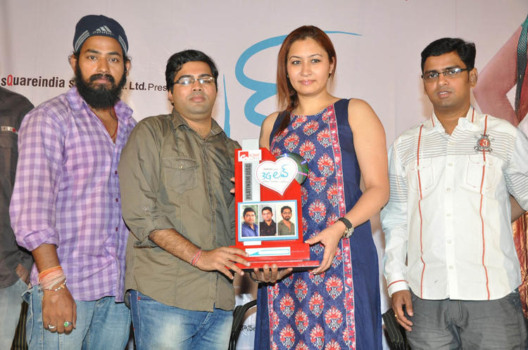 Jwala With Guests Pose For Camera At 3G Love Movie Platinum Disc Function