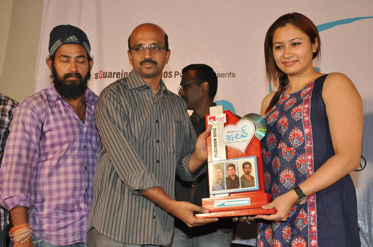 Jwala Gutta On Stage Photo Clicked At 3G Love Movie Platinum Disc Function