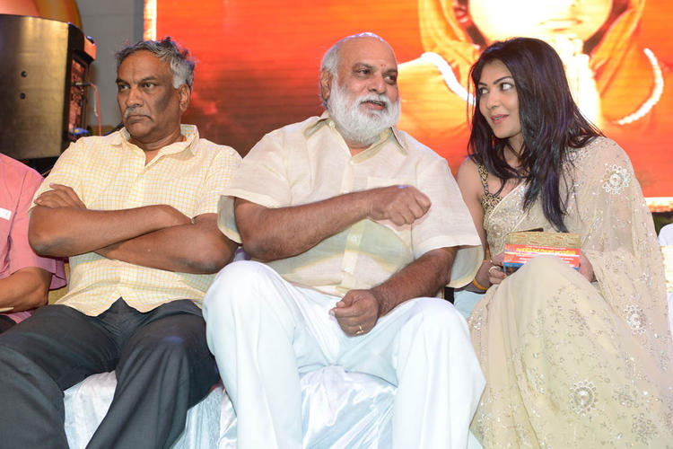 Tammareddy,K.Raghavendra And Kamalini Spotted At Jagadguru Adi Shankara Audio Launch