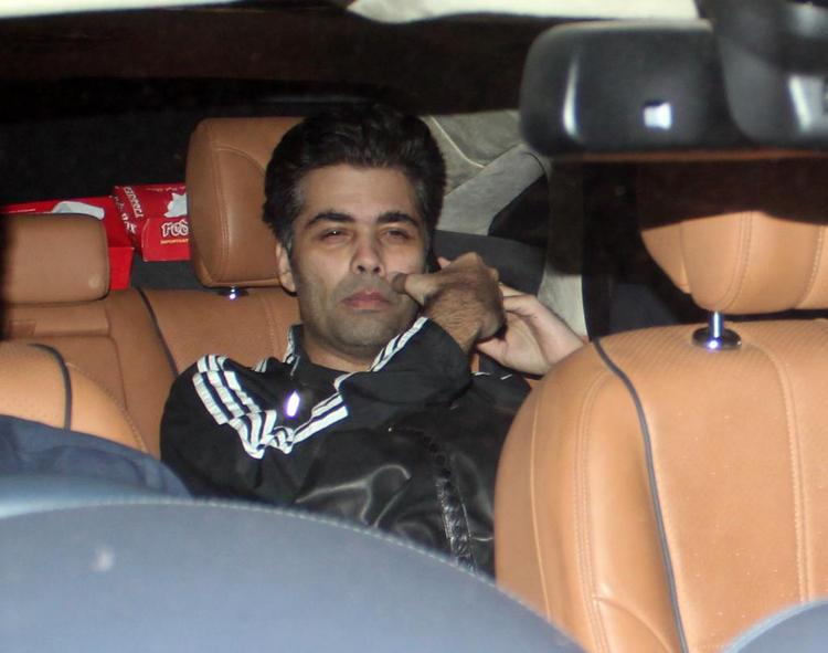 Karan Make An Appearance At The Success Meet Of Oscar Winning Film Lincoln