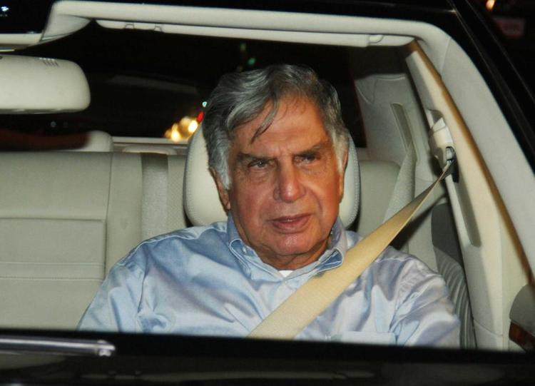 Ratan Tata Arrived To Celebrate The Success Of Oscar Winning Film Lincoln