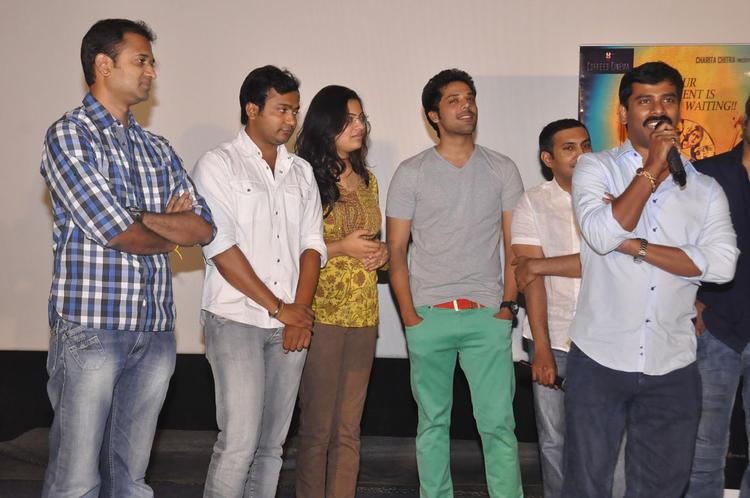 Geeta Madhuri During The Pizza Movie 25 Days Function
