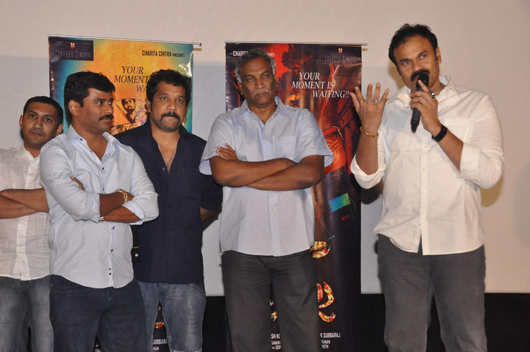 Tammareddy And Nagendra During The Pizza Movie 25 Days Function