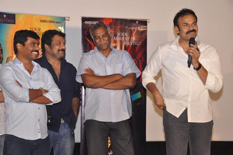Tammareddy And Nagendra Snapped At Pizza Movie 25 Days Function