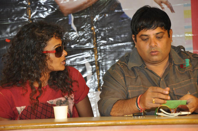 Sonia And Krishnudu Spotted At Mr.Manmadha Release Date Announcement Press Meet