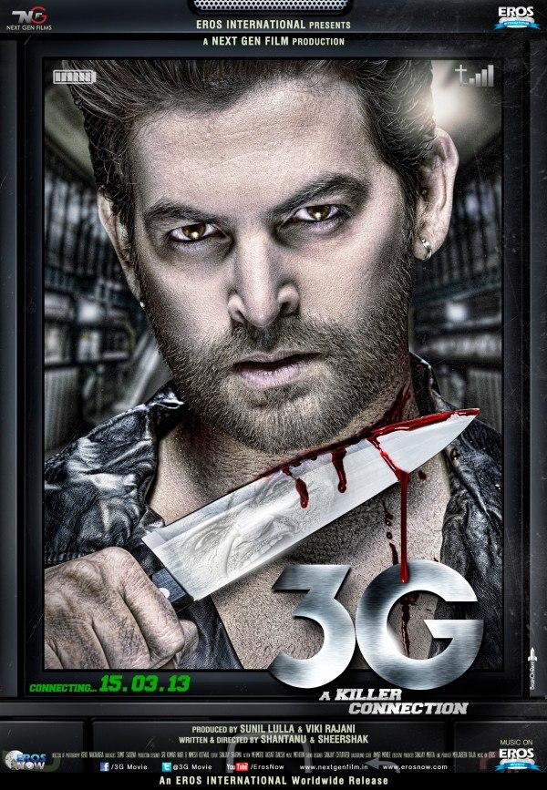 Neil Nitin On His Upcoming Movie Poster Of 3G