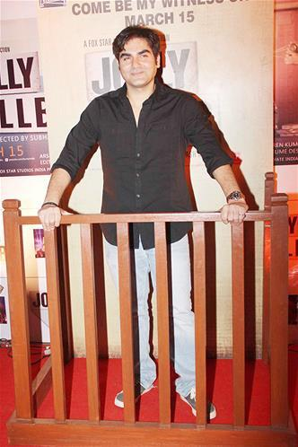 Arbaaz Khan Attend The Premiere Of The Film Jolly LLB