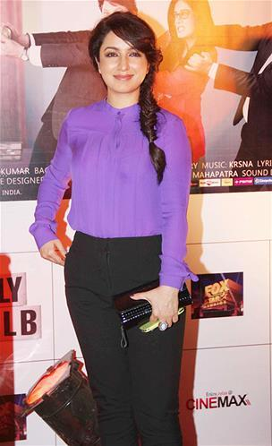 Tisca Chopra Strikes A Pose At The Premiere Of The Film Jolly LLB