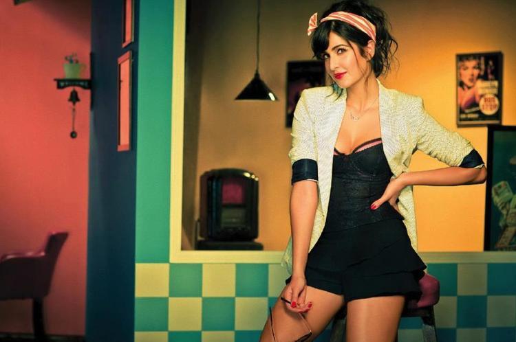 Katrina Kaif Sizzling Photo Shoot For Filmfare Magazine March 2013