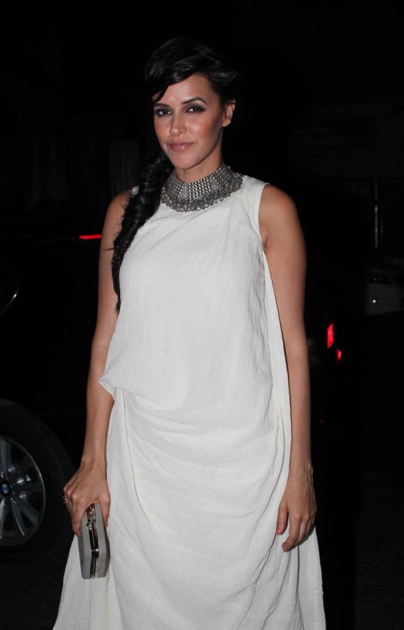 Neha Dhupia Spotted At Femina Miss India Party