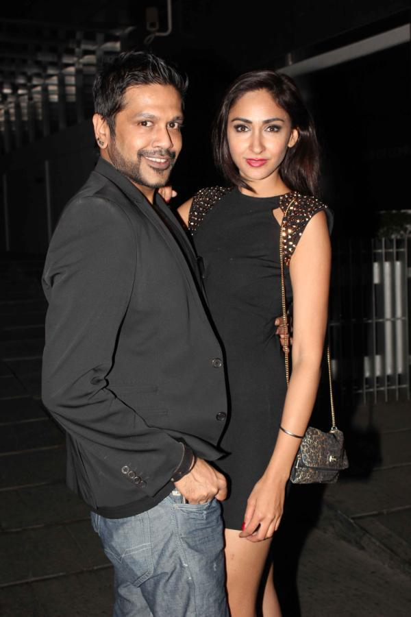 Rocky S With A Sexy Look Friend Posed For Shutterbugs At Femina Miss India Party
