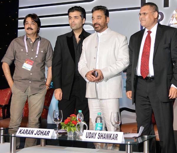 Karan Johar And Kamal Haasan Graced At The FICCI Frames 2013 Event