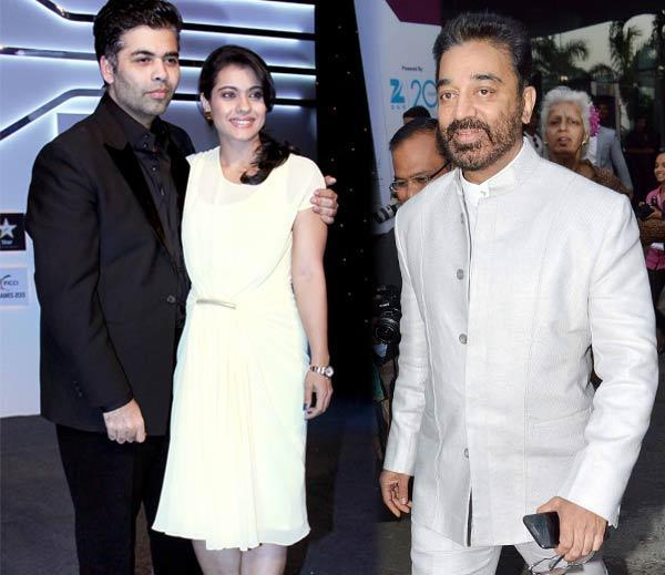 Karan Johar,Kajol Devgan And Kamal Haasan Attend The FICCI Frames 2013 Event