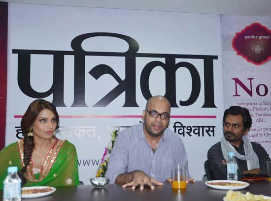Bipasha And Nawazuddin Make An Appearance At The Promotional Event Of Aatma In Indore