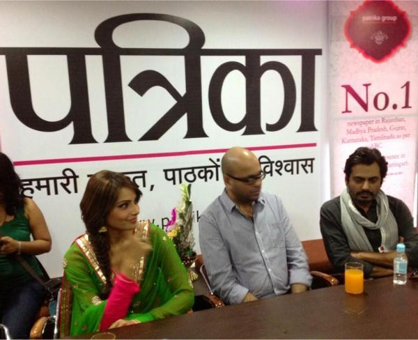 Bipasha And Nawazuddin Spotted At The Promotional Event Of Aatma In Indore