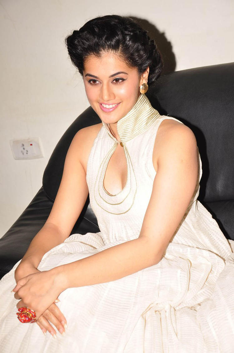 Taapsee Hot Look Photo Still At Shadow Audio Release Function