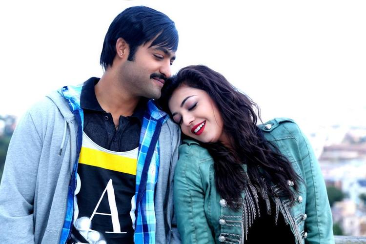 NTR And Kajal Sizzling Chemistry Photo Stills From Movie Baadshah