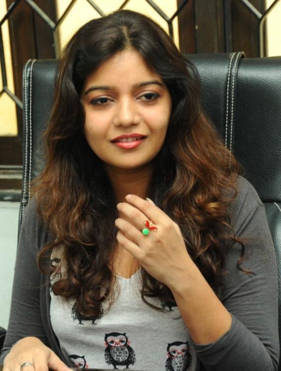Swati Charming Look Photo Still At Swamy Ra Ra Movie Interview