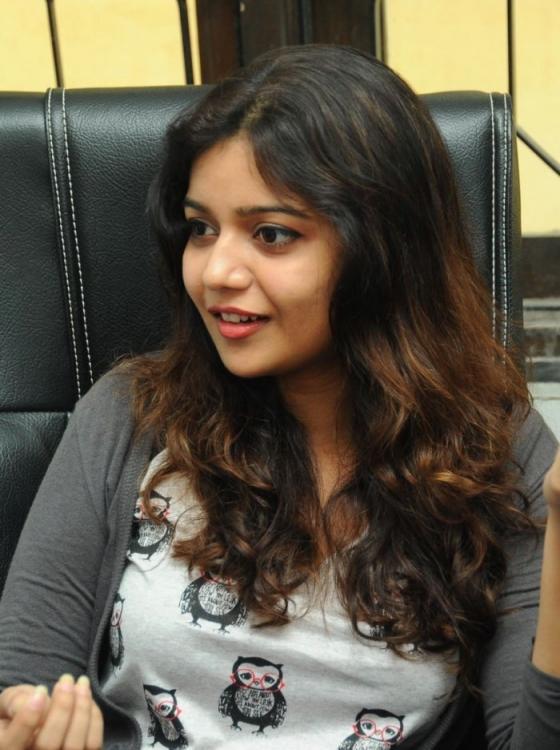 Swati Looked Ravishing At Swamy Ra Ra Movie Interview
