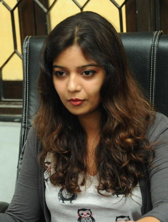 Swati Trendy Looking Photo Still At Swamy Ra Ra Movie Interview