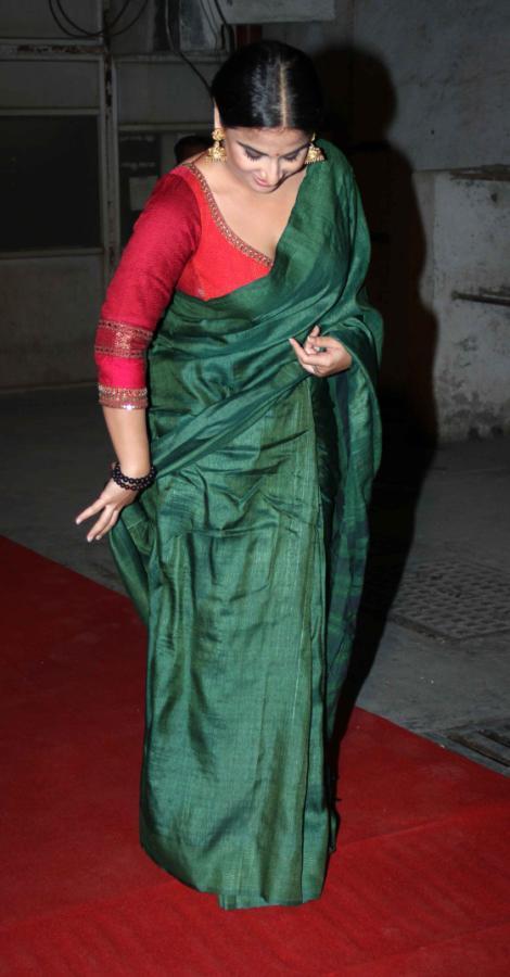 Vidya Balan Sexy Look Photo Clicked At Bawraas An Evening Of Laughter
