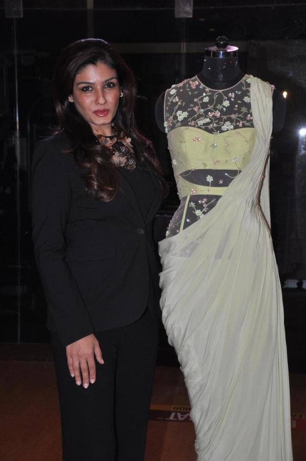Raveena Unveils Sonaakshi Raaj's Couture Line From Eden With Love