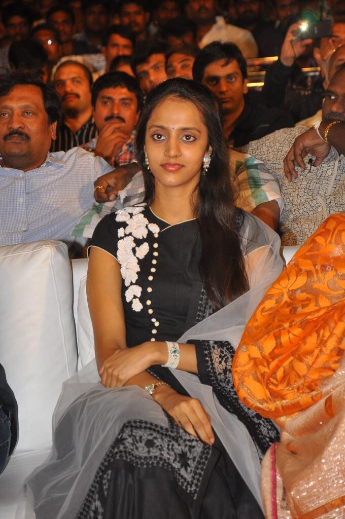 Lakshmi Pranathi Attend The Badshah Audio Launch Function