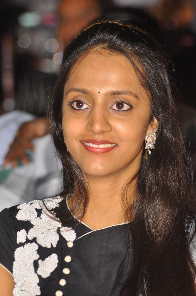 Lakshmi Pranathi Cute Smiling At Badshah Audio Launch Function
