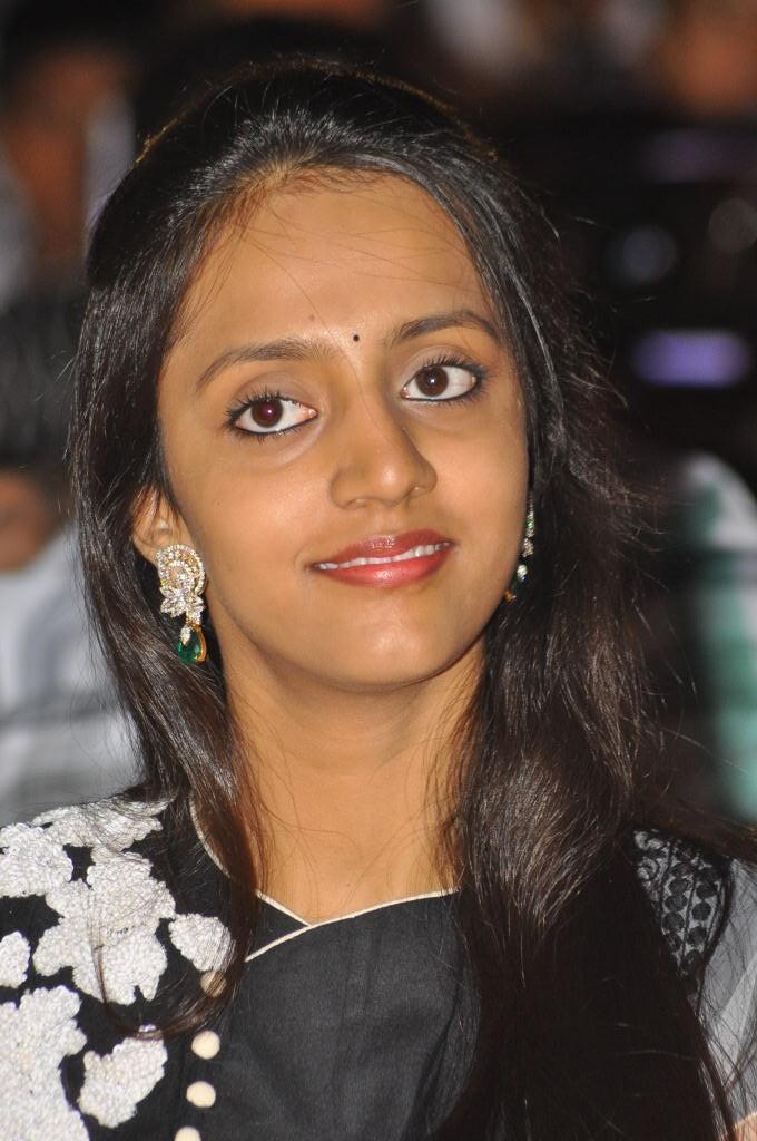 Lakshmi Pranathi During The Badshah Audio Launch Function