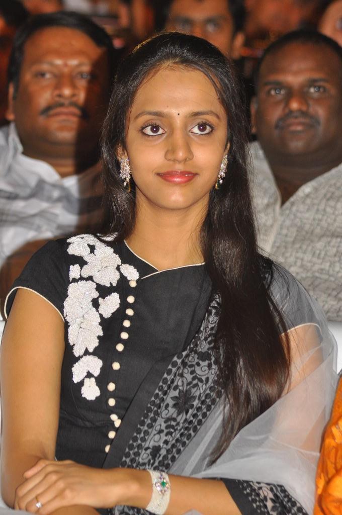 Lakshmi Pranathi Nice Look At Badshah Audio Launch Function