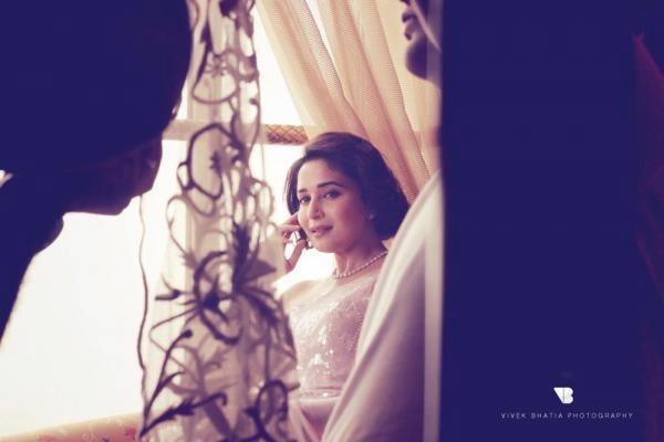Madhuri Dixit Beautiful Look During The Cover Shoot On The Sets Of Filmfare