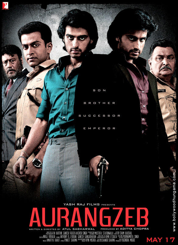Prithviraj,Arjun,Jackie And Rishi First Look Photo Wallpaper Of Movie Aurangzeb