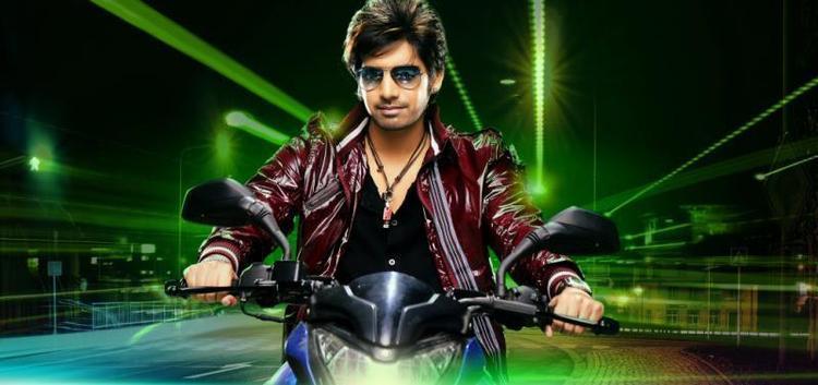 Sushanth Smarty Look On Bike Photo Still From Movie Adda