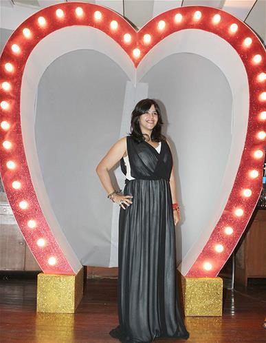 Ekta Kapoor Strikes A Pose At Launch Of Babli Badmaash Song