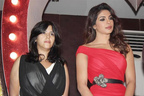 Priyanka And Ekta Make An Appearance At Launch Of Babli Badmaash Song