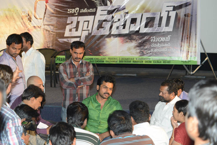 Karthi Speaks About The Movie Photo Clicked At Bad Boy Press Meet